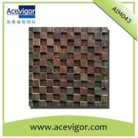 Quality Natural solid wood mosaic for wall decoration for sale