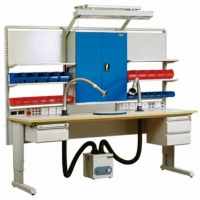 China Laboratory Electronic 300KG  Stainless Steel ESD Workbenches wholesale