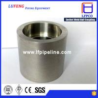 China Forged High Pressure Pipe Fittings Socket Weld 1 4 npt Half Coupling wholesale