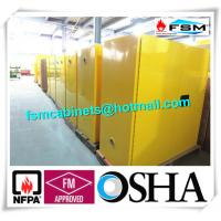 China 30 Gallon Chemical Safety Storage Cabinets For Flammable Liquids / Combustibles wholesale