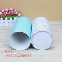 Quality Colored Handmade Paper Box Packaging 350g Thickness With Round Shape for sale