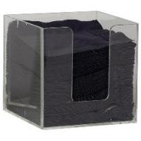 Quality Tabletop Acrylic Napkin Holder With Customer's Design And Logo for sale