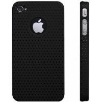 China Hardness 38 - 42 HA Custom Black Silicon Cell Phone Covers for iPhone 4 wholesale