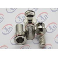 China + - 0.1 mm Tolerance Metal Machining Services Chromium Plated Iron Bolt Nut Components wholesale