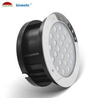 China High Brightness 18W Led Ground Lights Outdoor IP68 Waterproof DMX512 RGB Control wholesale