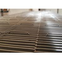 Buy cheap Rod Pitch 8MM Stainless Steel Wire Mesh Conveyor Belt For Pizza / Furnace from wholesalers