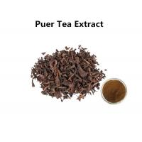 China 100% Organic Puer Tea Extract Powder Anti - Bacteria For Cosmetics / Food wholesale