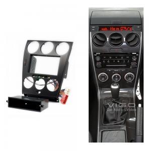 China Car Radio Fascia for Mazda 6 Atenza Head Unit Facia Trim Dash Kit w / Pocket 11-106 wholesale
