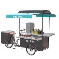 China Street Mobile Drink Bike Environment Friendly Convenient Transporting on sale