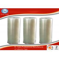 China 40Mic Clear Water Based Adhesive BOPP Jumbo Roll For Carton Sealing wholesale