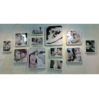 China acrylic photo frames wall mount wholesale