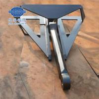 China Offshore 1-50t Flipper Delta Hhp Anchor with Dnv Gl BV ABS Lr CCS Nk Kr Class wholesale