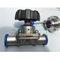 China Stainless Steel Three Way Sanitary Diaphragm Valve (ACE-GMF-C1) wholesale