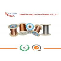China Dia 0.8mm 1.2mm CuNi23Mn Copper Nickel Wire For Under Floor Heating Cable wholesale