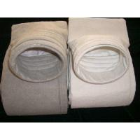 China polyester nonwoven dust filter bag used in casting house dedusting filter house less than 130 degree C wholesale
