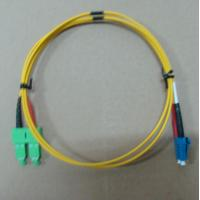 2.0mm / 3.0mm Fiber Optic Patch Cord LC SC Singlemode Dimplex With High Return Loss