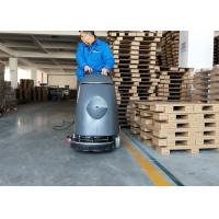 China Electric 20m Cable Cement Compact Floor Scrubber Machine Walk Behind Type wholesale