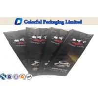 China Black Side Gusset Coffee Packaging Bags with Tin Tie / Heat Seal wholesale