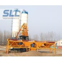 China Customized Color Wet Batch Concrete Plant Equipment High Efficient HZS25 wholesale