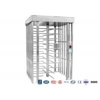 China Deluxe Automatic Full height Turnstile  Pedestrian System Parking Facilities Rotating Gate wholesale