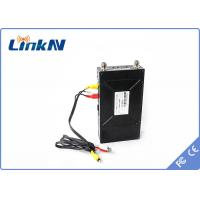 Buy cheap 2 Watt AES256 encrypted COFDM Video Transmitter battery works up to 90 mins from wholesalers