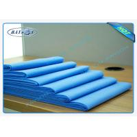 China Blue Color Soft Disposable Medical Duvet Cover With Air Permeability wholesale