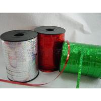 China Bird Frighten Holographic Curling Ribbons Roll 130u Thickness wholesale