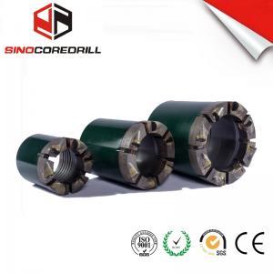 China PCD NQ HQ PQ Polycrystalline Compact Diamond Core Bit , DCDMA Standard wholesale