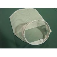Quality Polyester / Polypropylene / Nylon / Stainless Steel Liquid Filter Bag Steel Ring for sale