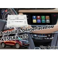 China Plug&Play Android Auto Interface GPS Navigation for Cadillac XT5 SRX XTS with Waze Yandex Youtube Mirrorlink wholesale