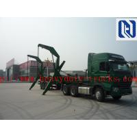 China Sinotruk Howo Truck Mounted Lorry Crane 6x4 10tires 25T Right Hand Drive on sale