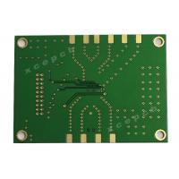 China ENIG Finished Surface In 0.79mm Rogers And FR4 Mixed 4 layer pcb Board In Green Soldermask on sale
