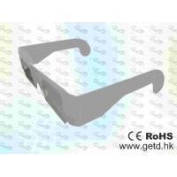 China Paper framed plastic Linear polarized 3D glasses  wholesale