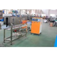 China Semi-Automatic Sleeve Labeling Machine with Steam Generator on sale