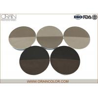 China Round Assorted Two Color Baked Makeup Eyebrow Powder For Black Hair wholesale