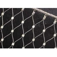 Buy cheap X-tend Ferruled Climber Plant Trellis Mesh, Zoo Stainless Steel Wire Rope Mesh from wholesalers