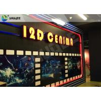 Buy cheap Entertaining 5D Cinema Seats With Motion Effect / Electric System For Amusement from wholesalers