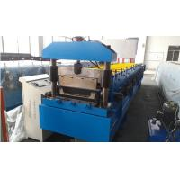 China Roof Panel Standing Seam Roll Forming Machine With Rib And Electrical Seaming Machine wholesale