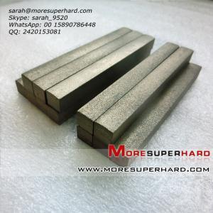 China Honing stone for repairing the vitrified bond diamond grinding wheel  sarah@moresuperhard.com wholesale