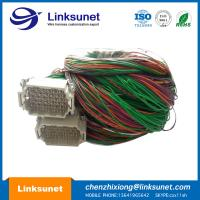 China Harting Han Industrial Wire Harness 09160723001 Four Point 72 PIN Connector wholesale