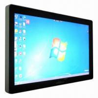 China 32-inch Resistive Touch Screen Monitor with HDMI, DVI, VGA and AV Input, Supports 10 Touch Points wholesale