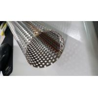 Quality 409 Steel Welded Steel Pipe with Perforated Holes for sale
