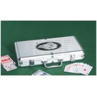 China 200 PC Aluminum Poker Chip Case, Silver (0109-0515) on sale