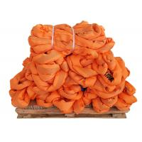 China Heavy Duty Endless Round Sling Polyester WLL 10T EN1492-2 Soft ORANGE wholesale