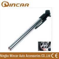 China metal professional tire pressure gauge tester with  LED light 10-50psi wholesale