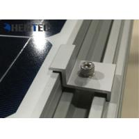 Buy cheap Aluminium Solar Roof Mounting Systems PV End Clamp Customized Dimensions from wholesalers