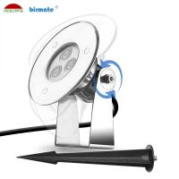 China 3W RGB Color Changing Surface Mounted Pin Light DMX Insert Anti UV Material wholesale