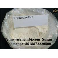 Pramoxine Hydrochloride Local Anesthetic Drugs 99% High Purity White Tronothane Hydrochloride  For Pain Killer