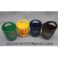 Quality fashion colorful plastic ice bucket for sale