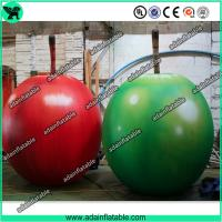 China Event Party Advertising Inflatable Fruits Model/Promotion Inflatable Apple Replica wholesale